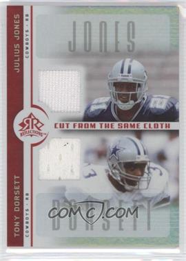 2005 Upper Deck Reflections Cut from the Same Cloth #CC-JD - Julius Jones