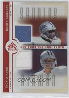Barry Sanders, Troy Aikman