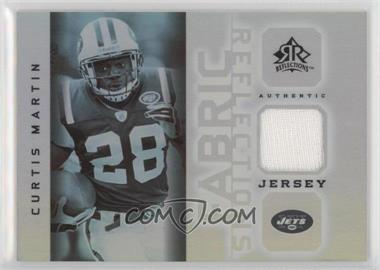 2005 Upper Deck Reflections Fabric Reflections #FR-CM - Curtis Martin