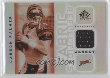 2005 Upper Deck Reflections Fabric Reflections #FR-CP - Carson Palmer