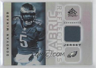 2005 Upper Deck Reflections Fabric Reflections #FR-DM - Donovan McNabb