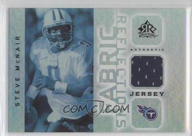 2005 Upper Deck Reflections Fabric Reflections #FR-SM - Steve McNair