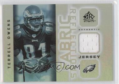 2005 Upper Deck Reflections Fabric Reflections #FR-TO - Terrell Owens