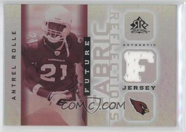 2005 Upper Deck Reflections Future Fabric Reflections #FFR-AN - Antrel Rolle