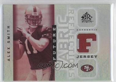 2005 Upper Deck Reflections Future Fabric Reflections #FFR-AS - Alex Smith