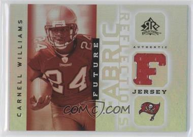 2005 Upper Deck Reflections Future Fabric Reflections #FFR-CW - Carnell Williams