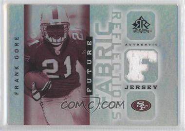 2005 Upper Deck Reflections Future Fabric Reflections #FFR-FG - Frank Gore