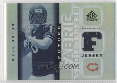 2005 Upper Deck Reflections Future Fabric Reflections #FFR-KO - Kyle Orton