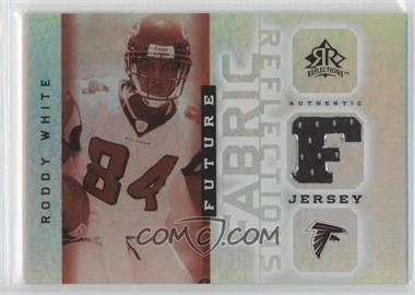 2005 Upper Deck Reflections Future Fabric Reflections #FFR-RW - Roddy White