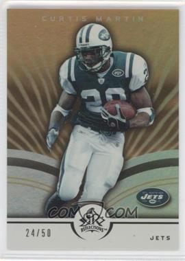 2005 Upper Deck Reflections Gold #66 - Curtis Martin /50