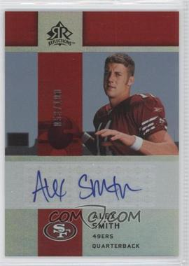 2005 Upper Deck Reflections Rookie Exclusives Autographs [Autographed] #RE-AS - Alex Smith /100
