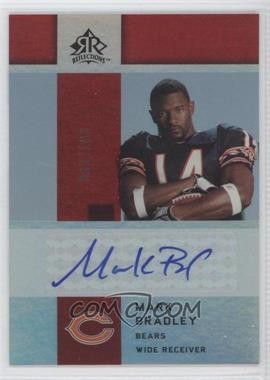 2005 Upper Deck Reflections Rookie Exclusives Autographs [Autographed] #RE-MB - Mark Bradley /100
