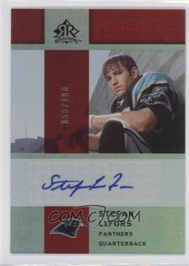 2005 Upper Deck Reflections Rookie Exclusives Autographs [Autographed] #RE-SL - Stefan LeFors /100