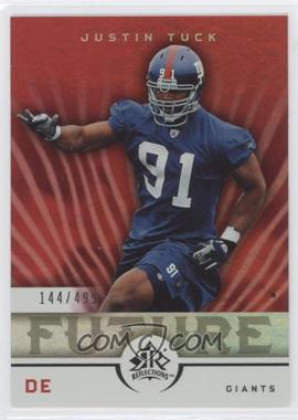 2005 Upper Deck Reflections #263 - Justin Tuck /499