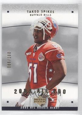 2005 Upper Deck Rookie Debut 2004 All-Pros Gold #AP-26 - Takeo Spikes /100