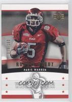 Paris Warren /100