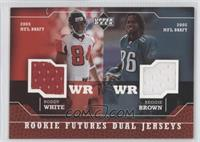Roddy White, Reggie Brown