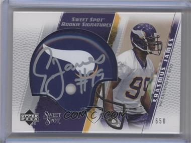 2005 Upper Deck Sweet Spot #266 - Erasmus James /650