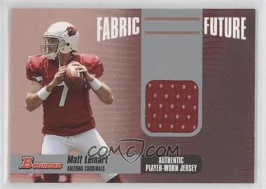 2006 Bowman - Fabric of the Future #FF-ML - Matt Leinart