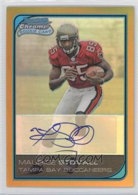2006 Bowman Chrome Rookie Autographs Gold Refractor [Autographed] #261 - Maurice Stovall /50