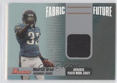 2006 Bowman Fabric Future #FF-MD - Maurice Jones-Drew