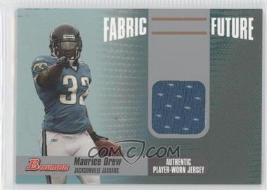 2006 Bowman Fabric Future #FF-MD - Maurice Jones-Drew