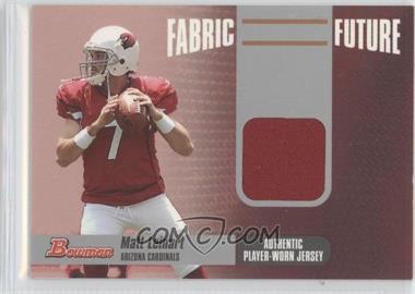 2006 Bowman Fabric Future #FF-ML - Matt Leinart