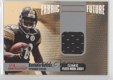 2006 Bowman Fabric Future #FF-SH - Santonio Holmes