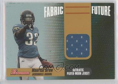 2006 Bowman Fabric of the Future Gold #FF-MD - Maurice Jones-Drew /100