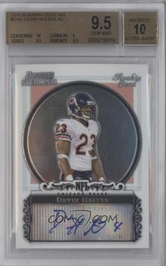 2006 Bowman Sterling Base Autographs #BS-DHE - Devin Hester [BGS 9.5]