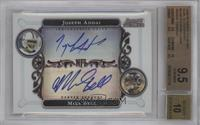 Joseph Addai, Mike Bell /600 [BGS 9.5]