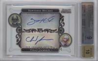 Santonio Holmes, Chad Jackson /200 [BGS9]