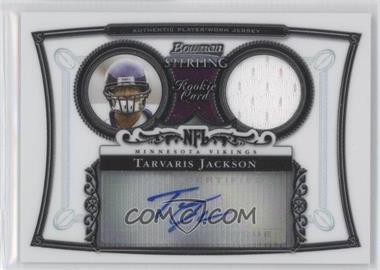2006 Bowman Sterling #BS-TJ - Tarvaris Jackson