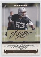 Autographed Rookies - Thomas Howard /599