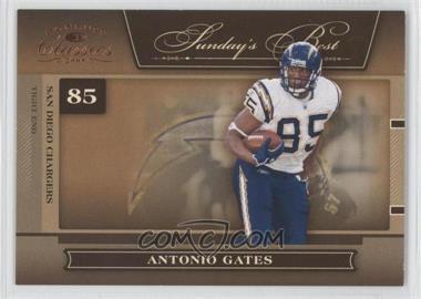 2006 Donruss Classics [???] #SB-3 - Antonio Gates /1000