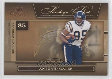 2006 Donruss Classics Sunday's Best #SB-3 - Antonio Gates /1000