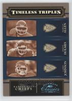 Larry Johnson, Marcus Allen, Priest Holmes /25