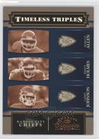 Larry Johnson, Marcus Allen, Priest Holmes /1000