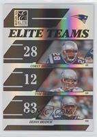 Corey Dillon, Tom Brady, Deion Branch /1000