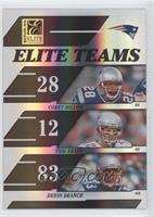 Corey Dillon, Tom Brady, Deion Branch #466/1,000