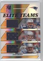 Corey Dillon, Tom Brady, Deion Branch /99