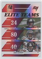 Cadillac Williams, Michael Clayton, Mike Alstott /500