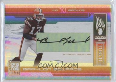 2006 Donruss Elite Passing the Torch Gold Signatures [Autographed] #PT-22 - Braylon Edwards, Paul Warfield /49