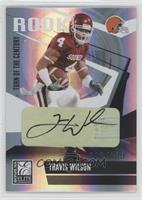 Travis Wilson /100