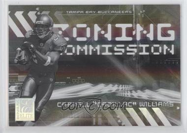 2006 Donruss Elite Zoning Commission Black #ZC-33 - Cadillac Williams /500