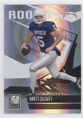 2006 Donruss Elite #117 - Brett Elliott /599