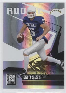 2006 Donruss Elite #117 - Brett Elliott /599