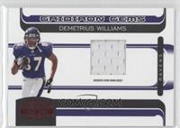 Demetrius Williams /50