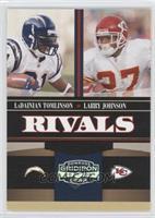 LaDainian Tomlinson, Larry Johnson /250