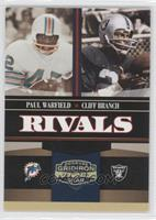 Cliff Branch, Paul Warfield /100